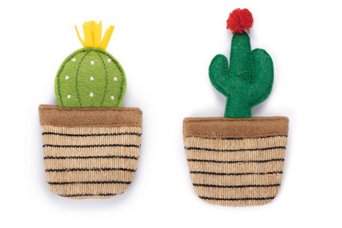 Catnip Katzenspielzeug Kaktus